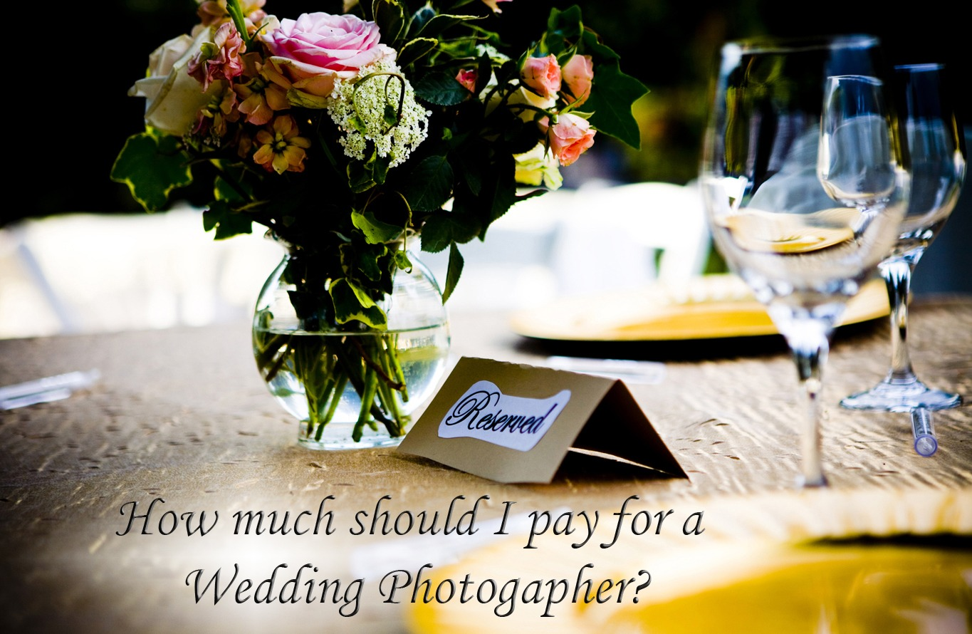 wedding photographer pricing how much do wedding With how much should i charge for wedding photography
