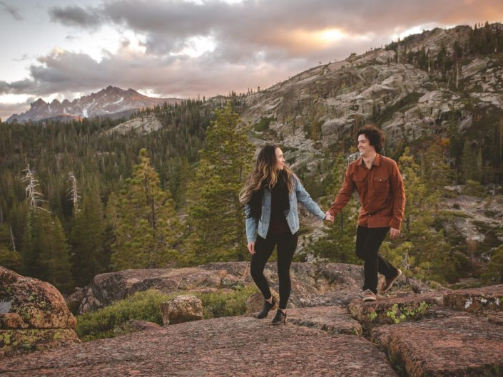 Lakes Basin Engagement Session - Lost Sierra